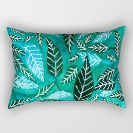 vegetal watercolor Rectangular Pillow
