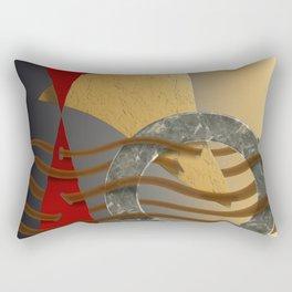 Postmarked Rectangular Pillow