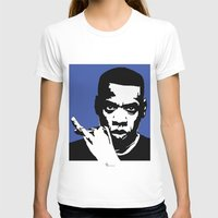 jay z T-shirts featuring Jay Z by Gary Barling
