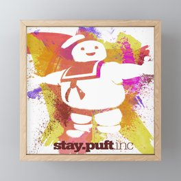 stay.puft.inc Framed Mini Art Print