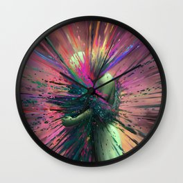 Shards of Bliss & Doubt Wall Clock