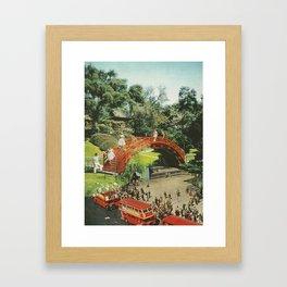 Undercity Framed Art Print