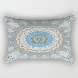 Dreamcatcher Teal Rectangular Pillow
