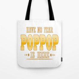 POPPOP IS HERE Tote Bag