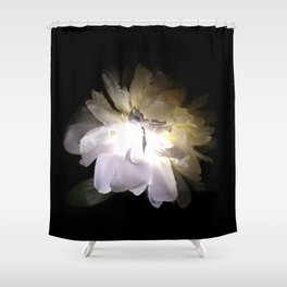 Electric Peony Shower Curtain