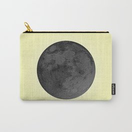 BLACK MOON + CANARY YELLOW SKY Carry-All Pouch