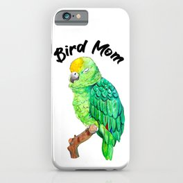 Parrot Bird Mom iPhone Case