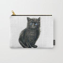 Black kitten Carry-All Pouch