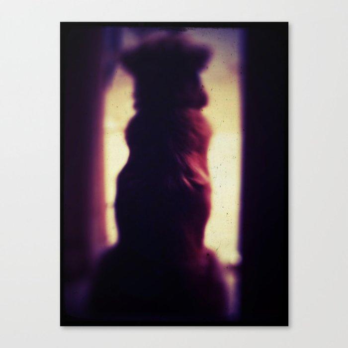 Puppy Pawn Canvas Print