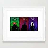hocus pocus Framed Art Prints featuring Hocus Pocus by Brieana
