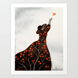 Time to fly Art Print