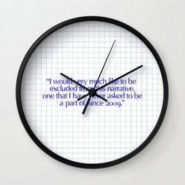 I would Wall Clock