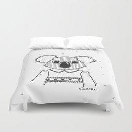 piña-koala Duvet Cover