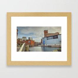 Birmingham Mainline Canal Framed Art Print