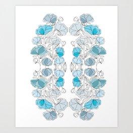 blue perversion Art Print