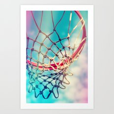 The Object Of Basketball Art Print