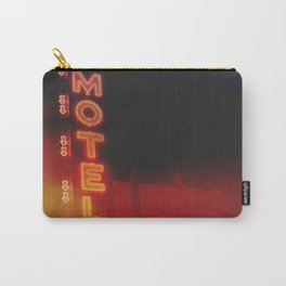 Red Motel Carry-All Pouch
