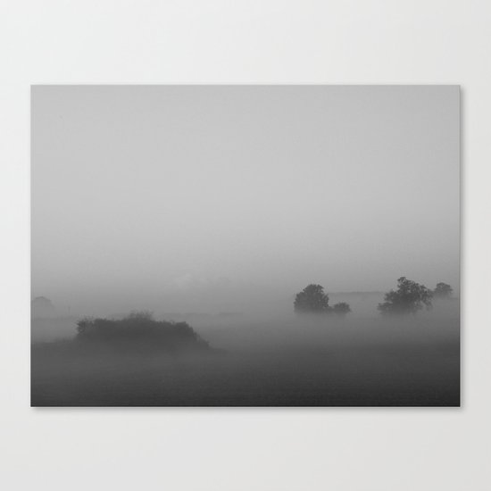 Misty Days #3 Canvas Print