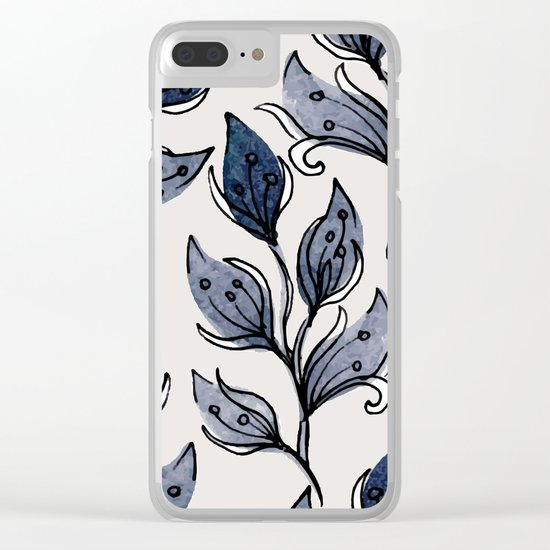 pattern 077 Clear iPhone Case