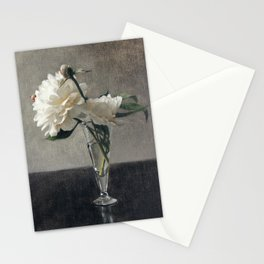 Peonies in Glass Stationery Cards