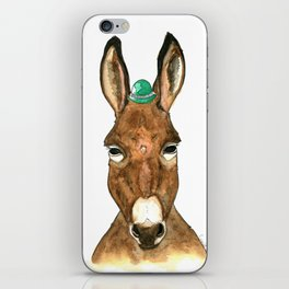 Ane au chapeau iPhone Skin