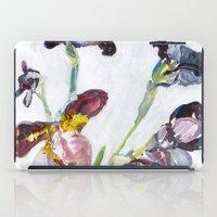 german iPad Cases featuring German Iris by Shinichi Imanaka