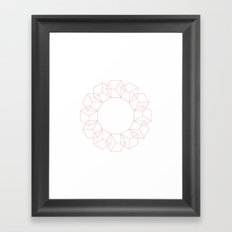 #347 Rolling – Geometry Daily Framed Art Print