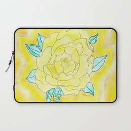 Neutral Rose Watercolor Laptop Sleeve