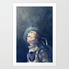 The Astronauta Art Print