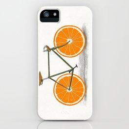 Zest (Orange Wheels) iPhone Case