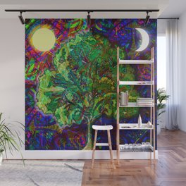 Night and Day Wall Mural