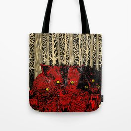 HELL WOLVES Tote Bag