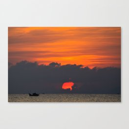 Vietnamese Sunset Canvas Print