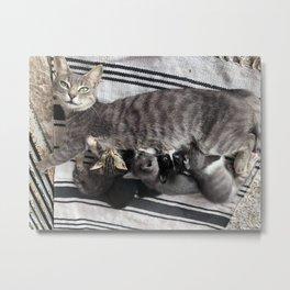 Cute family  Metal Print