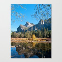 Valley View of Yosemite Canvas Print