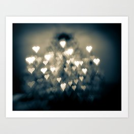 amour brûlant Art Print