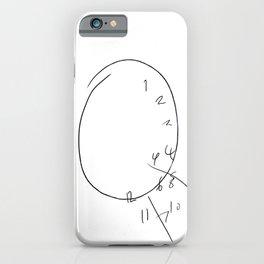 Will Graham - The Clock iPhone Case