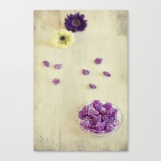 Violet sweets Canvas Print