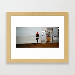 Hard Knock.  Framed Art Print