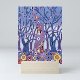 Zebedee Tree Mini Art Print