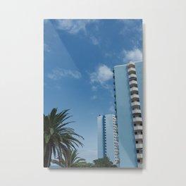 Vacation Postcard Metal Print