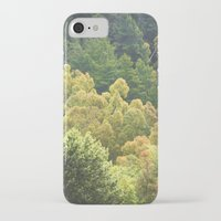 forrest iPhone & iPod Cases featuring Forrest Green by Bizzack Photography