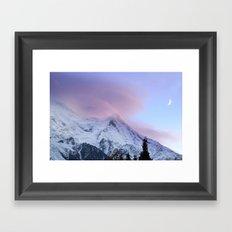 Chamonix Sky Framed Art Print