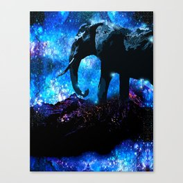 ELEPHANT DREAMS AND VISIONS AMONG THE STARS Canvas Print