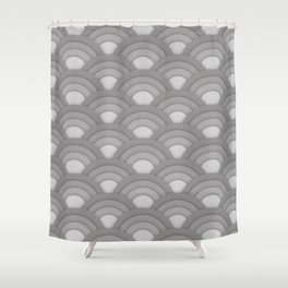 Art Deco Pattern Shower Curtain