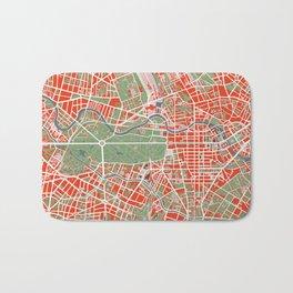 Berlin city map classic Bath Mat
