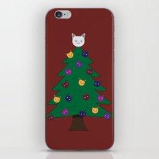 Merry Meow iPhone & iPod Skin