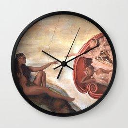 God is a Woman Wall Clock