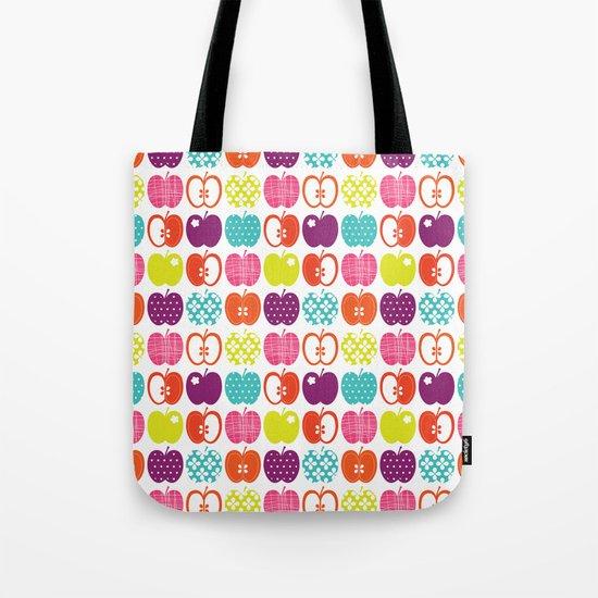 Textured Apples Tote Bag