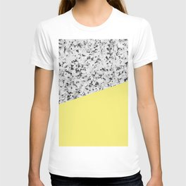 Granite and Banana Yellow Color T-shirt